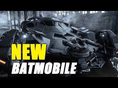 NEW Batmobile Has Guns