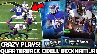 ODELL BECKHAM JR PLAYS QUARTERBACK! MY BEST PULL! Madden 19 Ultimate Team
