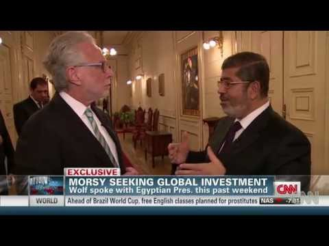 Pharoah Morsi Welcomes Zionist Delegation