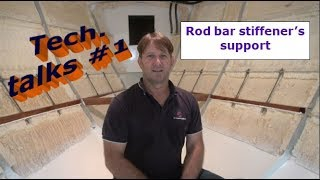 Building my steel sailing yacht Tech.talks #1 Intro. & V berth support
