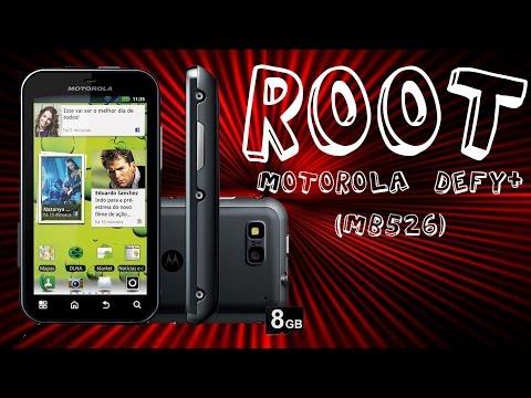 Como fazer ROOT no Motorola Defy+ (MB526), ou qualquer outro Android SEM PRECISAR DE UM COMPUTADOR!