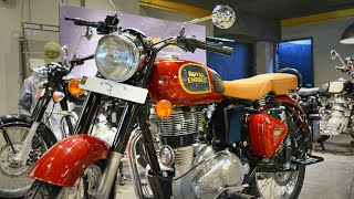 Royal Enfield Classic 350 2019 || Dual Channel ABS || Chestnut Colour || Price || Walkaround Review