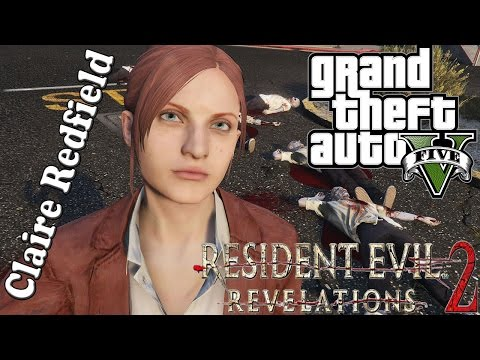 Claire Redfield from Resident Evil: Revelation 2