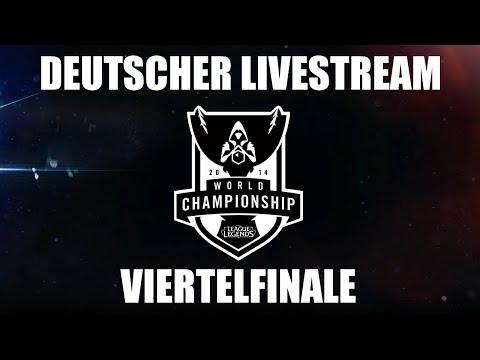League of Legends World Championship VIERTELFINALE