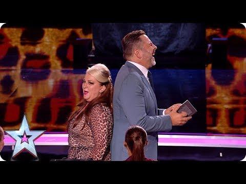 HILARIOUS Mandy Muden brings her bag of magic tricks to the Semi's! | Semi-Finals | BGT 2018