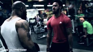 "Back workout- ""This is what we do!"" CT Fletcher"