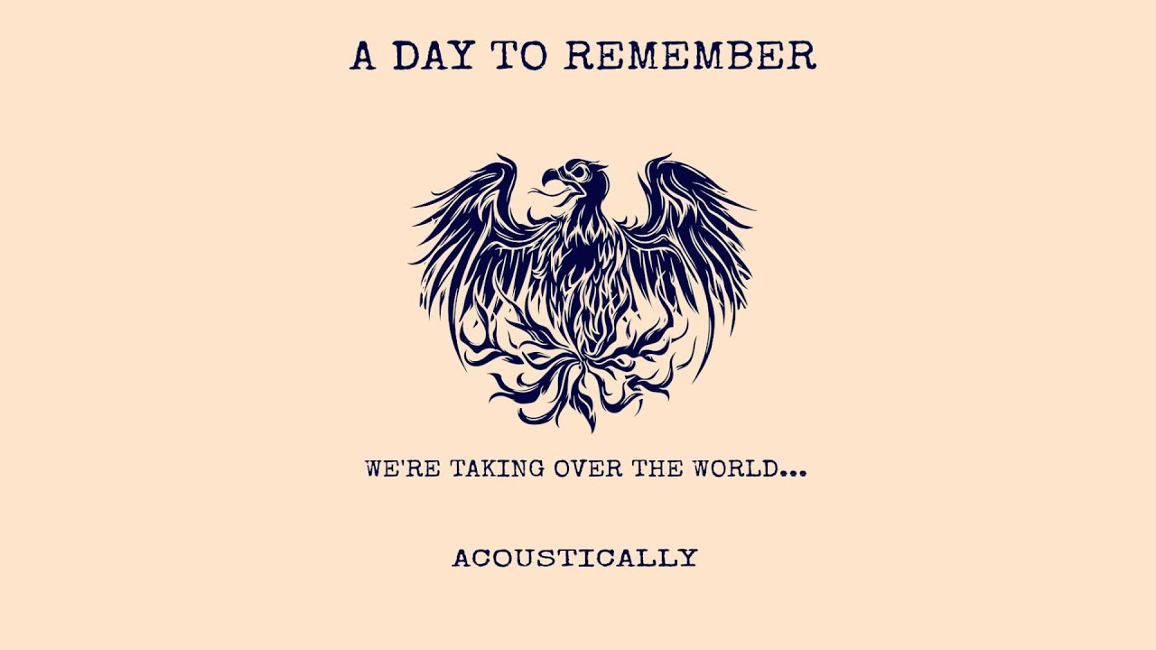 A Day To Remember Acoustic  A Day To Remember Common Courtesy Cd