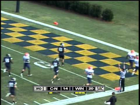 Wingate Football - Highlights from Wingate's 33-21 win over Carson-Newman (10/1/2011)