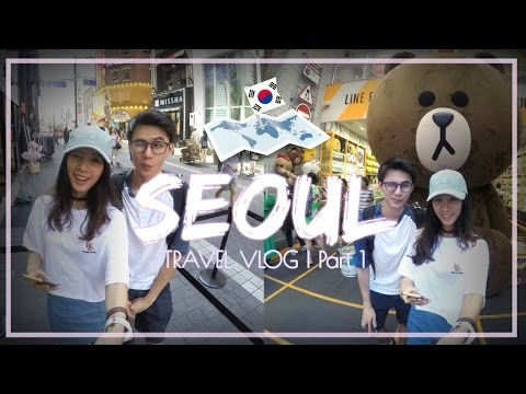 Seoul, Korea Travel Vlog #1 | Myeongdong, Dangdaemun, Han River Night Market 首尔旅游日记 Part 1