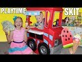 We Opened an Ice Cream Shop! Earning Real Money! -