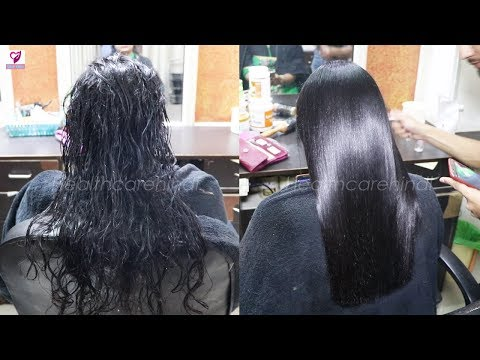 Get Shiny Hair - Hair Silk Treatment Step By Step #healthcarehindi
