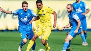 Resumen Villarreal CF 2 - 0 Orihuela CF
