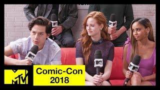 'Riverdale' Cast on Season 3, Character Deaths & More! | Comic-Con 2018 | MTV