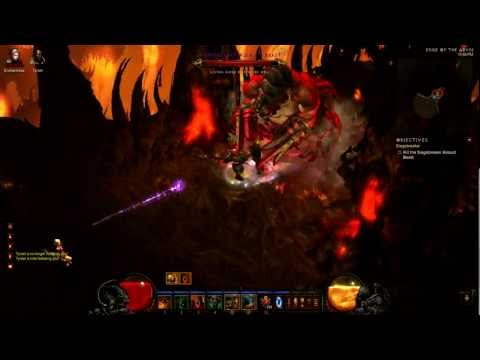 Diablo 3 1.04 Barbarian 2-Handed Rend Build Gameplay