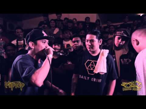 Fliptop - M Zhayt Vs Damsa *old School Freestyle Battle* video