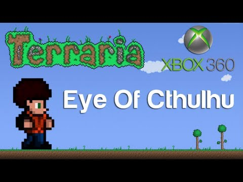 Terraria Xbox - Eye Of Cthulhu [11]