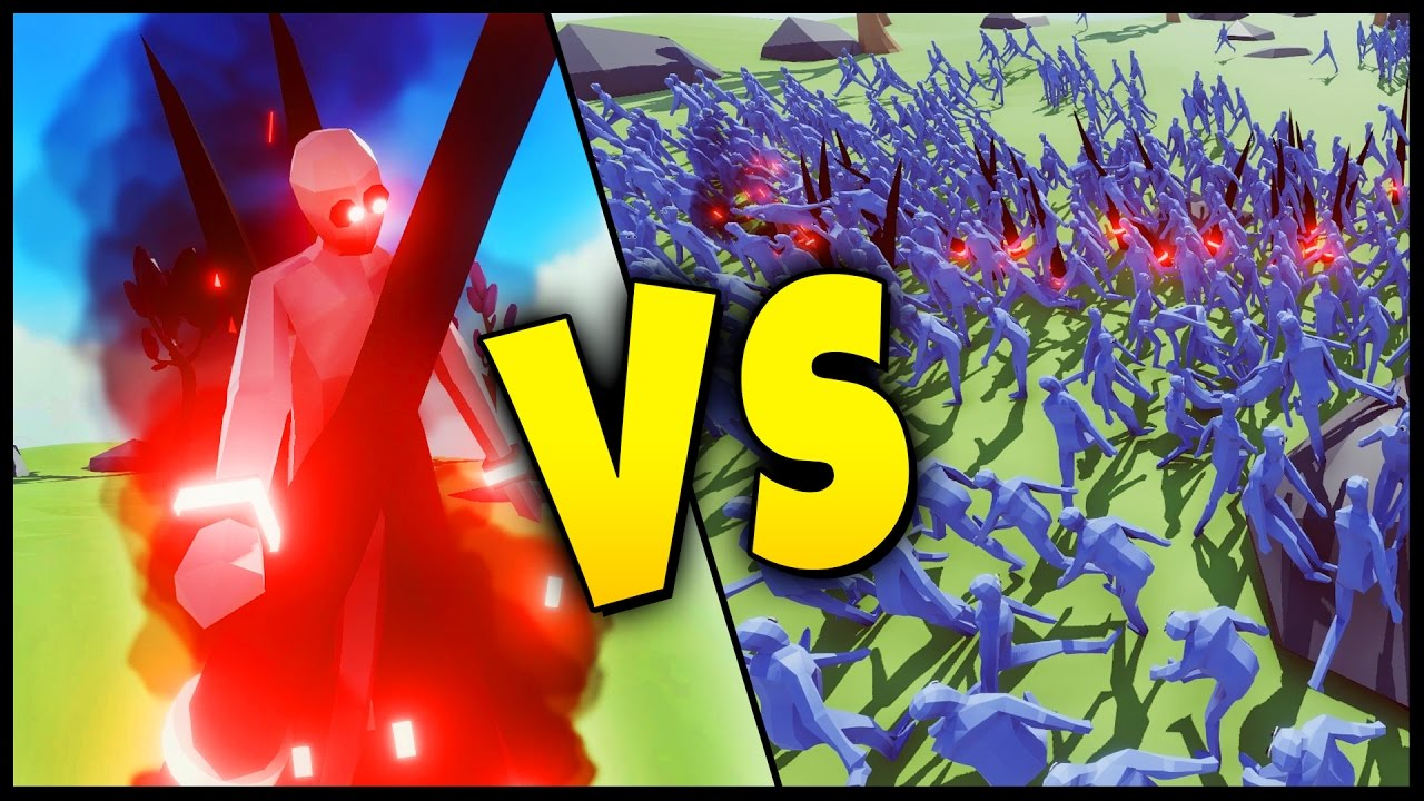 DARK PEASANT IS OP! Dark Peasant vs 1000 Peasants?! Totally Accurate Battle Simulator -The Dark Lord