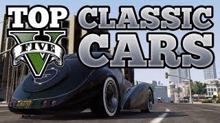 GTA V Top 5 Classic Cars (BF Surfer, JB700, Monroe, Stinger, Z-Type)