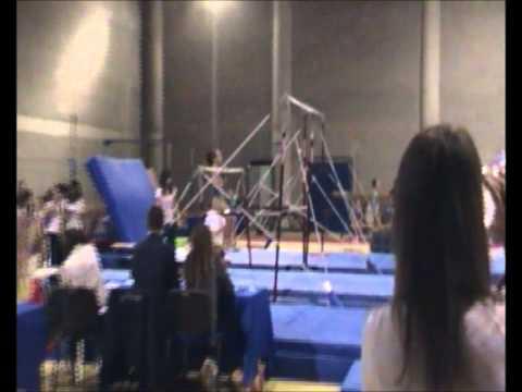Andrea D'antuono Campionessa nazionale 2012 ginnastica artistica