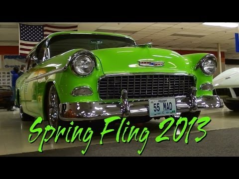 Spring Fling Car Show Gateway Classic Cars - Hot Rods Muscle Cars and Classics