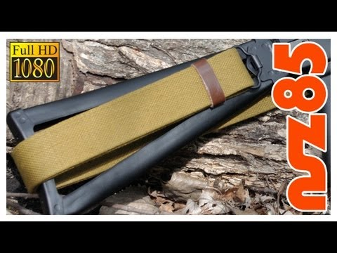 AK-47: Proper Sling Installation/Attachment - Folding Stock (HD)
