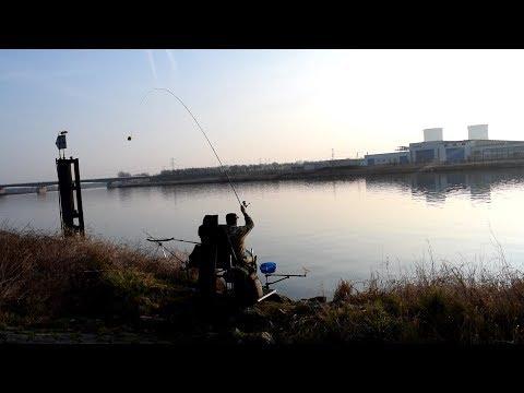 Весенняя рыбалка на фидерную снасть 2018