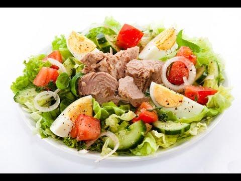 Салат с тунцом консервированным на Новогодний Стол - Новогодние салаты 2018 / TUNA salad recipe