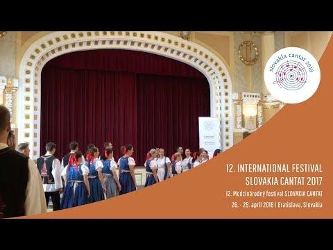 Spevácky zbor Technik STU   Slovakia Cantat 2018