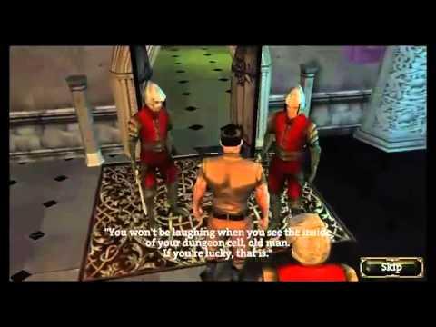 Aralon sword: 3d rpg great game not great camera MTR