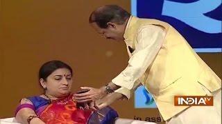IndiaTV Samvaad: Rashid Alvi's controversial remark on PM Modi, Smriti Irani's apt response