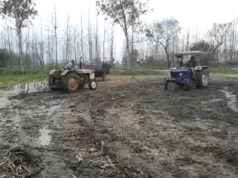 Framtrac65 And Escort335 Tractor Stunt video