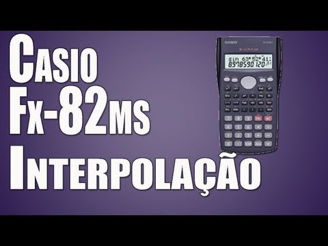 Interpolação Linear na Casio fx-82ms