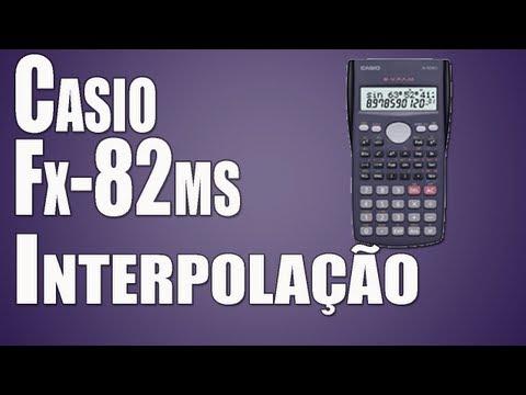 Interpolação Linear na Casio fx-82ms