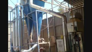 Balık unu kurutma- Fish powder dryer.wmv
