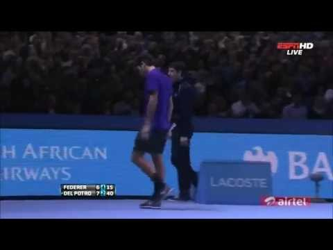 Roger Federer Incredible Best Point [HD]
