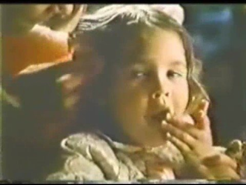 Drew Barrymore (age 4) Cookie Dough Commercial cira 1979