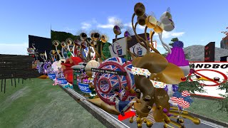 Giant snail race 414 16 Mar 19 RFL Giant Snail Cross Country Race Circus