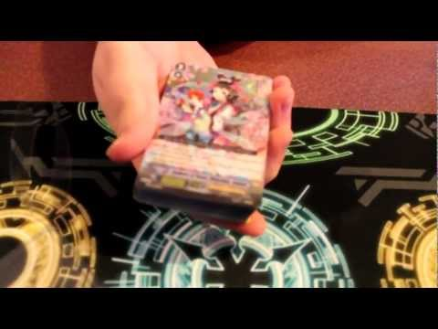 Cardfight!! Vanguard Golden Mechanical Soldier and Maiden Princess of the Cherry Blossoms TD