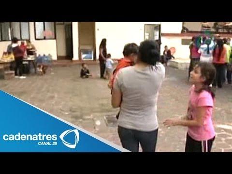 Habitantes de Tancítaro se refugian en iglesia tras amenazas; Vallejo advierte detener autodefensas