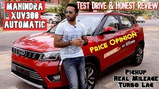 Mahindra XUV300 Automatic AMT Test Drive & Honest Review with Price in India in Hindi🔥