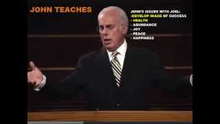 Joel Osteen exposes John Macarthur and the deeds of the flesh
