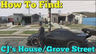 Gta 5 How To Find CJ's House/Grove Street