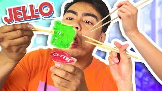 Is It Possible To Eat JELLO With Chopsticks?
