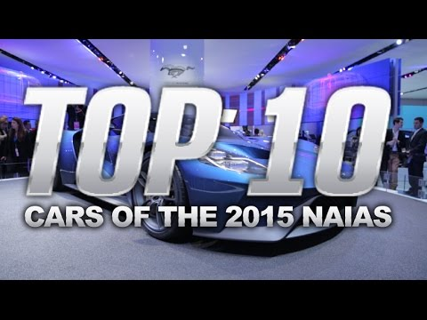 Top 10 Best Cars - 2015 Detroit Auto Show
