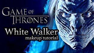 WHITE WALKER GAME OF THRONES  -  HALLOWEEN MAKEUP TUTORIAL