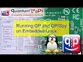 Running QP And QPSpy On Embedded Linux