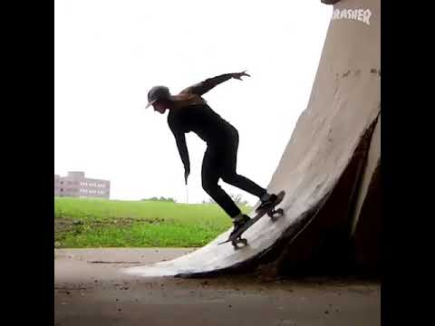 👀@fabiana_delfino throwing down bangers 💥via @thrashermag | Shralpin Skateboarding