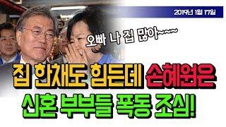 집한채도 힘든데... 손혜원 싹쓸이에 신혼부부들 폭동? (진성호의 돌저격) / 신의한수