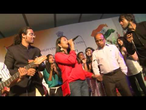 Republic Day 2014 celebrations - Part V (Performance by audience)
