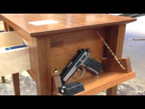 Nightstand Plans With Hidden Compartment